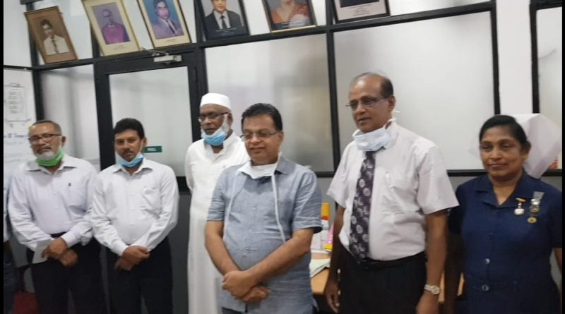 Muslims in Kandy offer 100-bed Islamic school for quarantine center to Kandy National Hospital